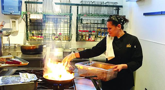 Chef Daniela Hurtado Castro.