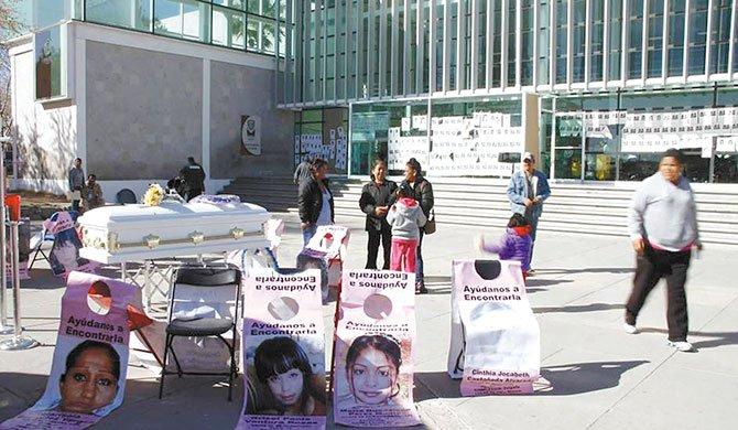 El drama de las mujeres desaparecidas