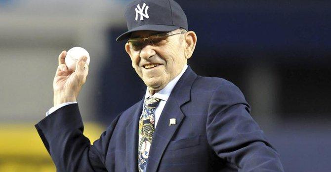 El yanqui Yogi Berra es recordado por su talento y su entusiasmo