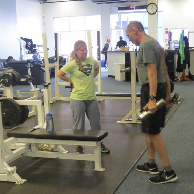 La entrenadora Kimberly Yost asegura que Team Eckenrode es el único gimnasio del área que ofrece grandes ventajas en instalaciones, equipos, apoyo técnico y precios para los entrenadores independientes.