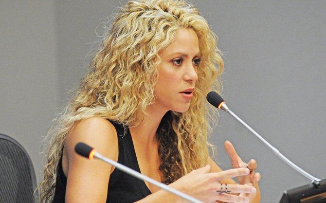 """Shakira en la ONU: """"Debemos dar oportunidad a los niños"""""""