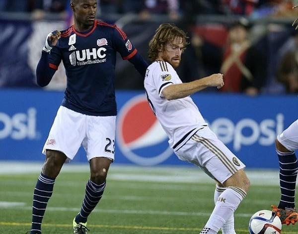 New England Revolution deja ir la ventaja y empata 1-1 con Philadelphia Union