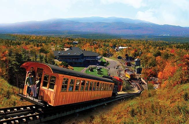 The Cog Railway, New Hampshire