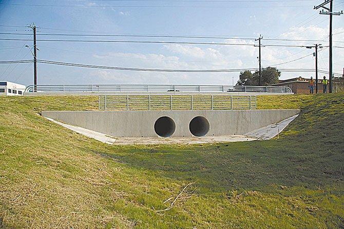 Puente renovado