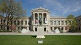 Fachada del Museo de Bellas Artes de Boston (MFA)