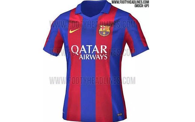 Filtran el diseño de la camiseta del FC Barcelona para la temporada 2016  2017 ( b3a962875a58f