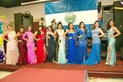 Las candidatas al reinado del Carnaval de San Miguel en el área metropolitana de Washington.