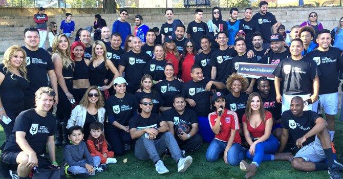 DC United y la comunidad jugaron fútbol a beneficio del Latino Student Fund