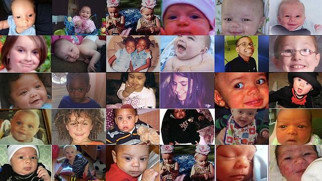 El New England Center for Investigative Reporting investigó las muertes de más de una centena de niños que han fallecido por abuso o negligencia de sus cuidadores entre 2009 y 2013. En su website, publican una inforgrafía donde se describe cada caso