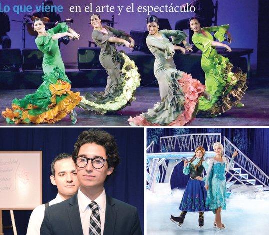 Danza, hielo y teatro