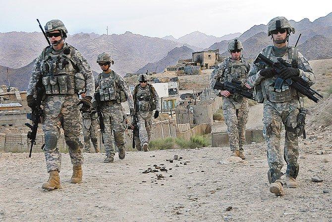 Soldados se quedarán  en Afganistán hasta el 2017