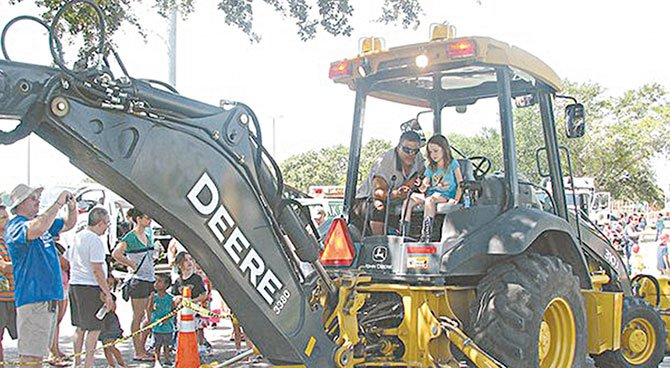 'Touch-A-Truck' para chicos