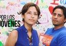 Óscar Hernández y Carolina Ramírez trabajan por el sueño de muchos jóvenes que como ellos han sido amparados por el DACA. Foto EFE