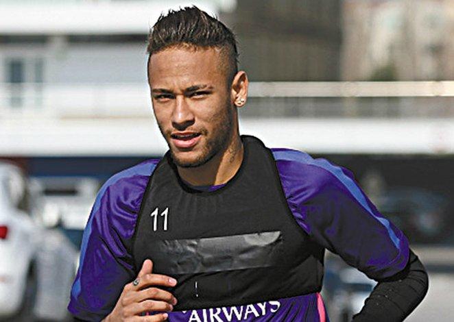 Neymar regresa