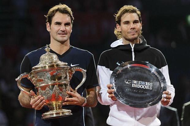 """Federer festejó en Basilea con un triunfo ante Nadal, tras tres años sin ganar el """"clásico"""""""