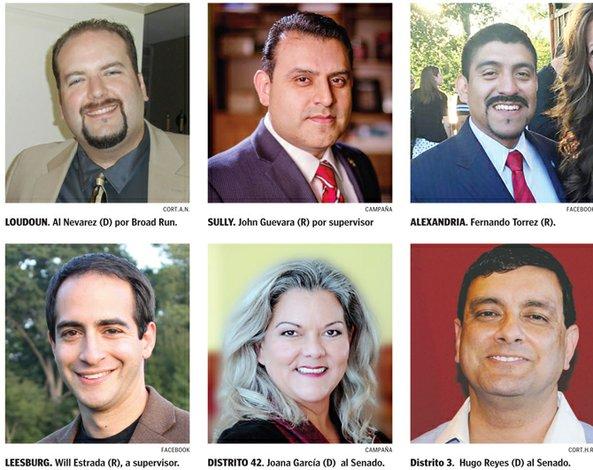 Más candidatos hispanos en las elecciones de Virginia