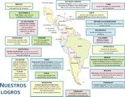 En la década de existencia, la Alianza Latina USA ha realizado más de 20 obras sociales y educativas en diferentes países de América Latina y Estados Unidos.