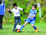 Parido entre un equipo Sub-10 de International FC y Chantilly Soccer Association.