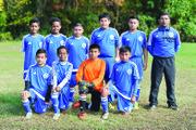 Equipo de la categoría Sub-12 de International FC.