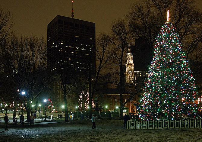 ESTE FIN DE SEMANA: Tour de encendido de árboles de Navidad en los vecindarios de Boston