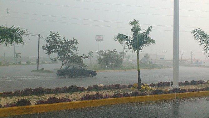 Predicen fuertes lluvias al sur del país