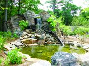 Paisaje a orillas del Deer Lake Park donde se encuentra el Museo.