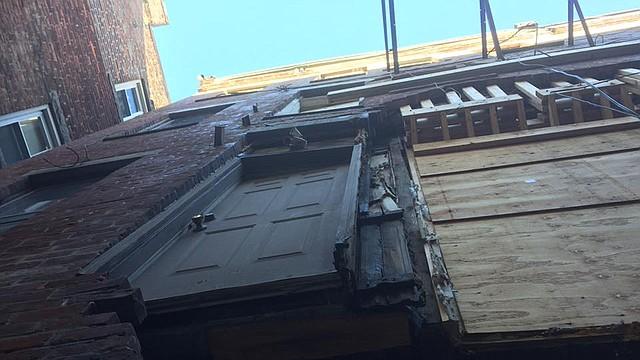 El edificio estaba en condiciones deplorables