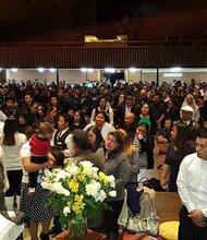 ERVICIO RELIGIOSO. Más de 3.000 personas asistieron al servicio que se realizó el sábado 14 de noviembre.