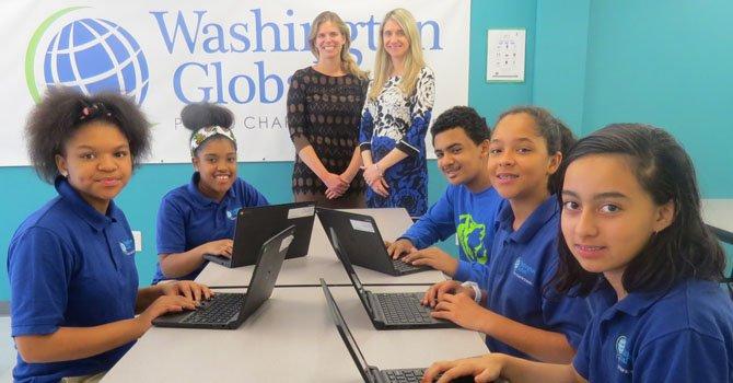 Washington Global es una opción académica con énfasis en la tecnología y los idiomas