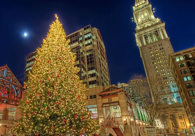 19 DE NOVIEMBRE: Encendido del árbol de navidad de Faneuil Hall y concierto navideño