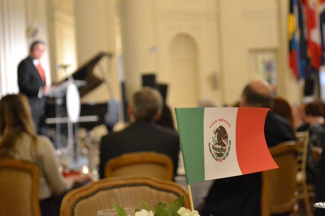 En la noche de premiación al compositor mexicano Armando Manzanero, se sirvieron platillos preparados basados en la gastronomía yucateca.