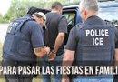 Los oficiales de Inmigración y Aduanas (ICE) tienen órdenes de detener a una persona indocumentada que tenga un caso pendiente de DWI sin importar si tiene familia o no.