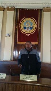 Concejal Leo Robinson, Presidente del Concejo Municipal
