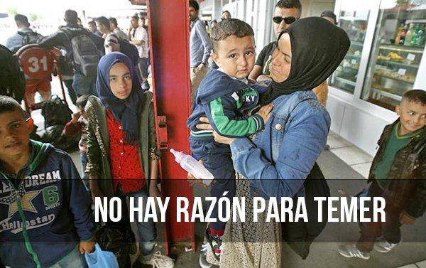 Por qué es infundado el miedo a los refugiados sirios