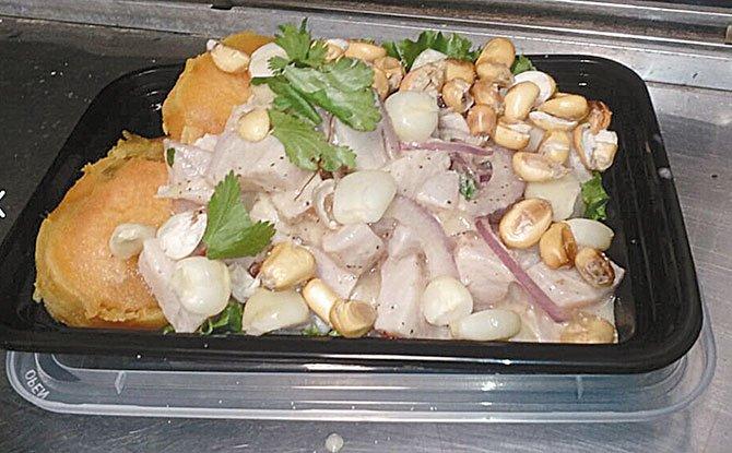 Ceviche en 'traila'