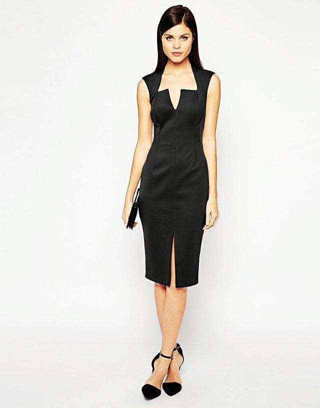 Para un look ultra femenino y discreto, son los vestidos lady con vuelo, o los largos midi más entallados. Busque juego en los tejidos, recurriendo a los flecos, el encaje, el neopreno, o cualquier punto que marque la diferencia entre los muchos modelos disponibles.