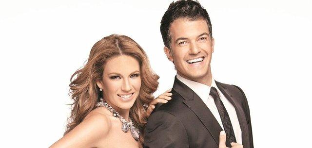 """La pareja de presentadores estuvo en la mirilla de la prensa con su separación. Luego de que Fernando sufriera de cáncer, vino el divorcio y uno al otro se acusaron de """"mentir"""" ante la prensa. Hasta hoy en día siguen dando de qué hablar."""