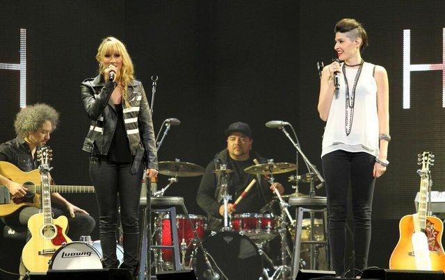 Las talentosas hermanas presentaron su nuevo disco y estuvieron de gira con Ricky Martin.