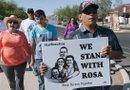 La Iglesia Presbiteriana del Sur de Tucson ha ofrecido refugio a los inmigrantes indocumentados en riesgo de deportación, entre ellos Rosa Robles, una inmigrante mexicana que logró detener su deportación. /Foto: EFE