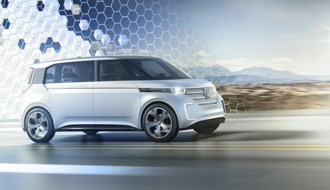 Volkswagen develó el esperado concepto de minivan BUDD-e