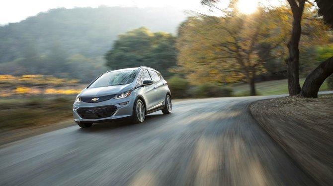 """Chevrolet presentó el nuevo vehículo eléctrico llamado """"Bolt"""""""