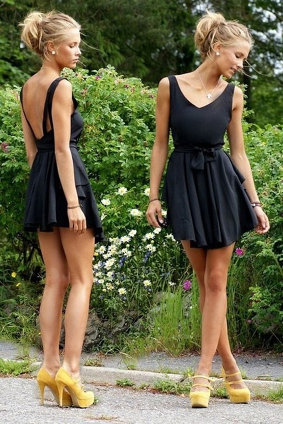 El little black dress es uno de los mandamientos de la moda; nunca de los nuncas puede faltar en el clóset femenino.  Sabiéndolo combinar podrá verse casual o elegante.