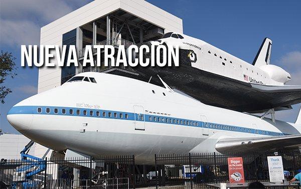 Centro Espacial de Houston presenta nueva atracción