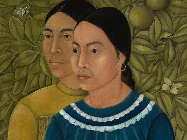"""Curiosidades sobre la pintura """"Dos Mujeres"""" de Frida Kahlo (y por qué debes ir a verla en el MFA)"""