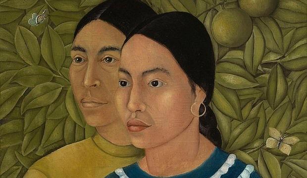 """""""Dos Mujeres"""", de Frida Kahlo"""