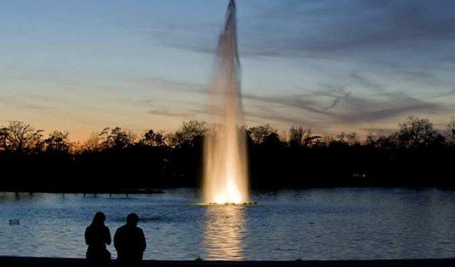 Lleve a su pareja al Parque Hermann para una cena romántica en el patio del Pinewood Café con vista al Lago McGovern. Luego, continúe la diversión con un recorrido de media hora por el lago para dos personas en un bote de pedales. Incluye un aperitivo, plato principal, postre, alquiler del bote. El alcohol y las propinas no están incluidas.