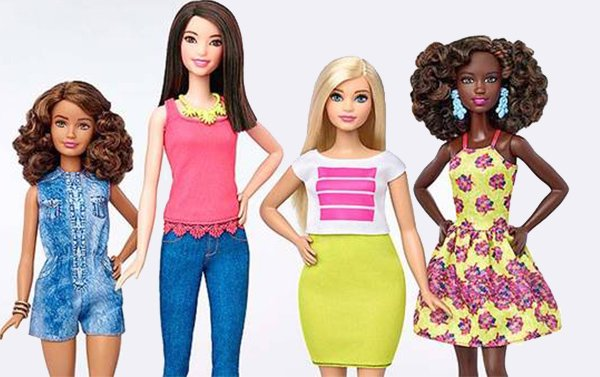 Mattel diversifica el aspecto de su muñeca Barbie