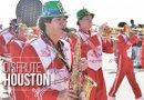 Celebración de Mardi Gras en Galveston./ Foto: Sylvia Obén