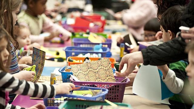 Actividades manuales para niños en el MFA de Boston