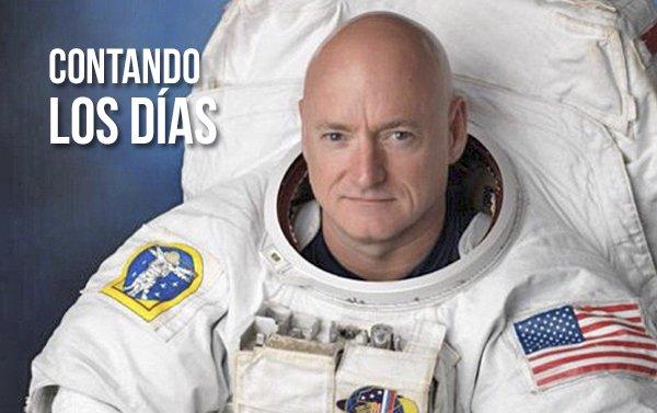 Astronauta comienza en el espacio la cuenta regresiva del Super Bowl 2017